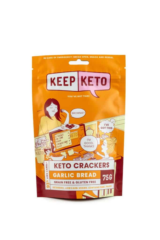gralic bread keto crackers