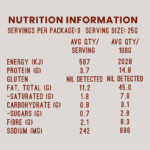 Salt and Pepper Nutrition Information